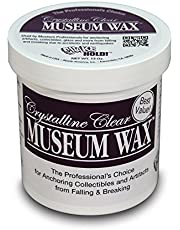 Quakehold! 13-Ounce Museum Wax, Clear Adhesive, Reusable and Removable, Non-Toxic and Non-Damaging, Easy to Use, Great for Wall Art, Antiques, for Use on Metal, Glass, Ceramic, Wood, 1 Pack