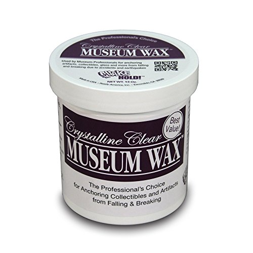 Reusable Clear Screen (Quakehold! 44111 13-Ounce Museum Wax)