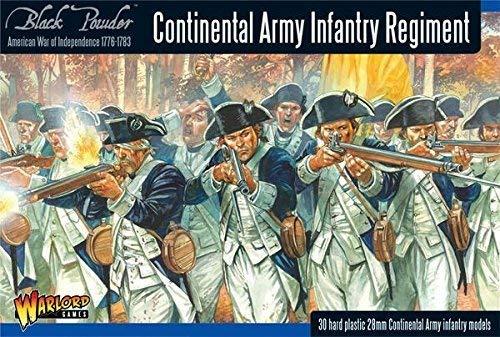 Black Powder - American War Of Independence - Continental Infantry (28mm) [並行輸入品] B07QZ4GLKQ