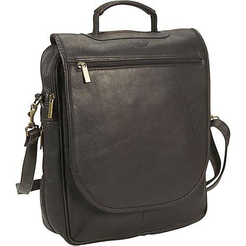 David King & Co. Vertical Expandable Portfolio Backpack, Cafe, One Size