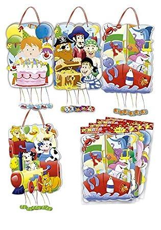 DISOK - Piñata Mix Party - Piñatas para Niños Niñas Cumpleaños