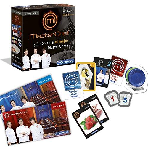 Master Chef Juego De Preguntas Clementoni 55014 Amazon Es