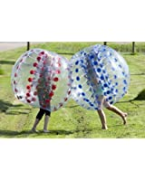 Inflatable Bubble Soccer Ball 5' 1.5m Bumper Bubble Football Ball PVC (Red)