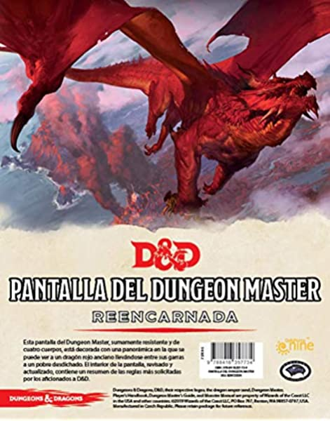 Dungeons & Dragons- Pantalla del Dungeon Master Reencarnada ...
