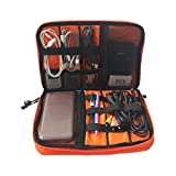 THEE Data Cable Organizer Case Storage Bag Digital Devices USB Earphone Wire Travel