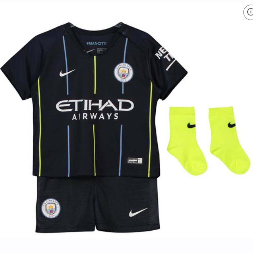 Nike 2018-2019 Man City Away Baby Kit