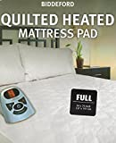 Biddeford 5301-9051128-100 Sherpa Quilted Skirt Electric Heated...