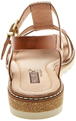 Pikolinos Women's Alcudia W1l Ankle Strap Sandals Orange (Apricot) 3YQN3pfXf