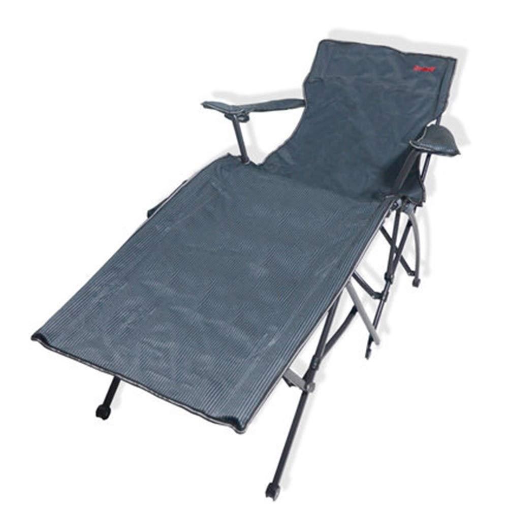JDGK - ラウンジチェア 寝椅子屋外リクライニングキャンプポータブル折りたたみベッドオフィスランチ休憩シエスタベッド病院同伴ベッド - 8974 B07SZB5GF3