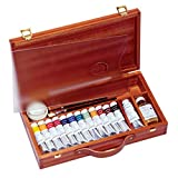Sennelier Egg Tempera in a luxury Wood Set of 13 Tubes - Best Price on Web!