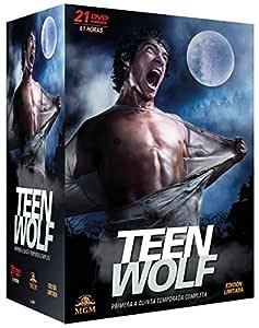 Pack Teen Wolf - Primera a Quinta Temporada Completa DVD: Amazon ...