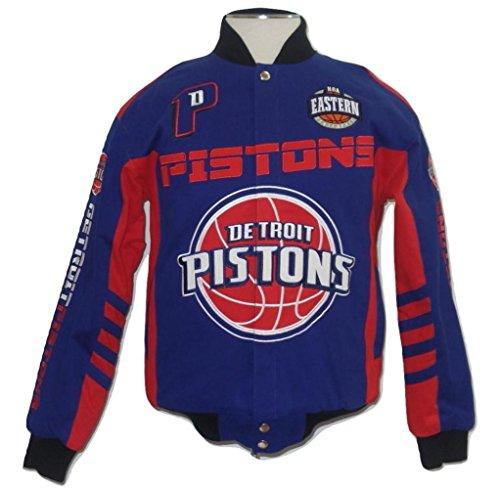 G-III Sports Detroit Pistons Men's Legacy Cotton Twill Jacket