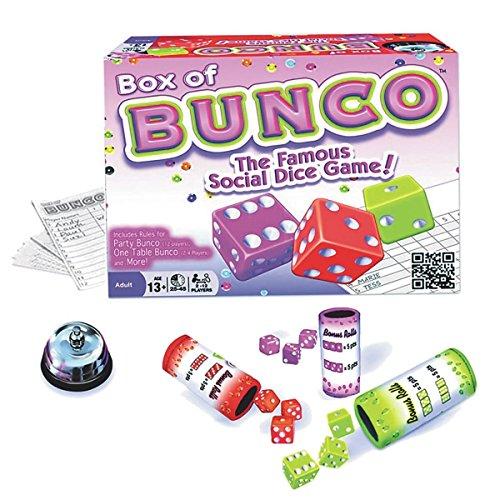 Continuum Games CG1617 Box of Bunco (6 Piece), Multicolor by Continuum Games