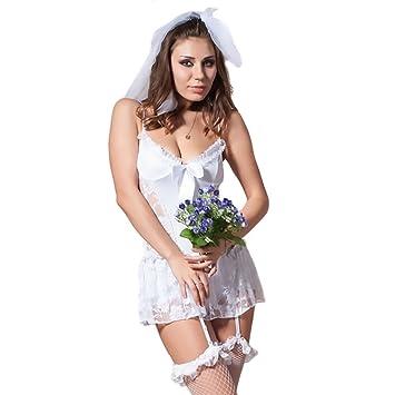 Sexy wedding dress costume
