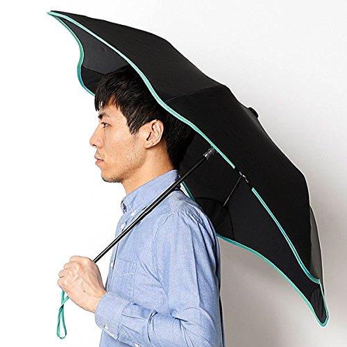 ブラント(BLUNT) 【空気力学による風に強い構造6色展開】ユニセックス長傘(メンズ/レディース雨傘) B072MR6RZW61ミントグリン 51