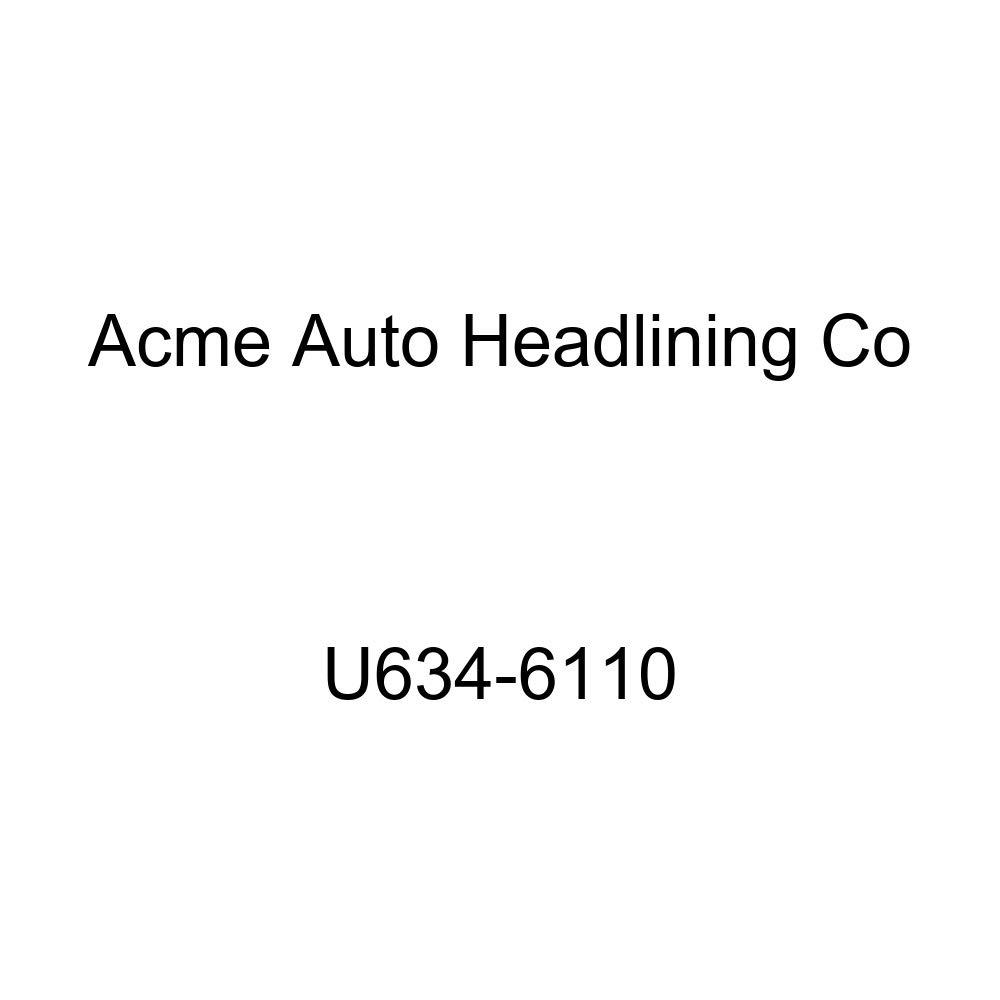 Acme U634-6110 Smoke Vinyl Front Bucket and Rear Bench Seat Upholstery