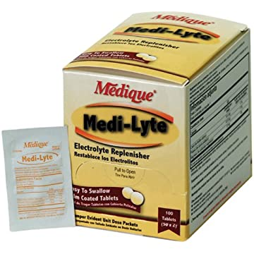 reliable Medique Products 03033 Medi-Lyte electrolyte replacement tablets