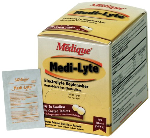 Medique 03033 Medi-Lyte electrolyte replacement tablets, 100 Tablets (Electrolyte Replenisher)