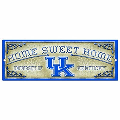WinCraft Kentucky Wildcats Home Sweet Home Wood Sign, 18 x 12-inch