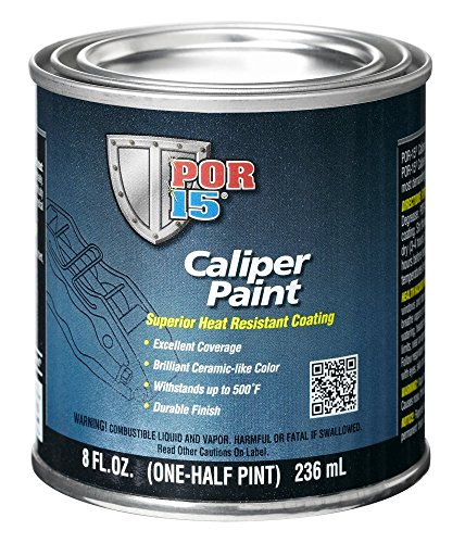 POR-15 42906 Yellow Caliper Paint - 8 fl. oz. (Best Caliper Paint Kit)