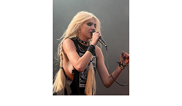 236499 Taylor Momsen Rear View Fishnet Stockings Top In Concert PRINT POSTER US