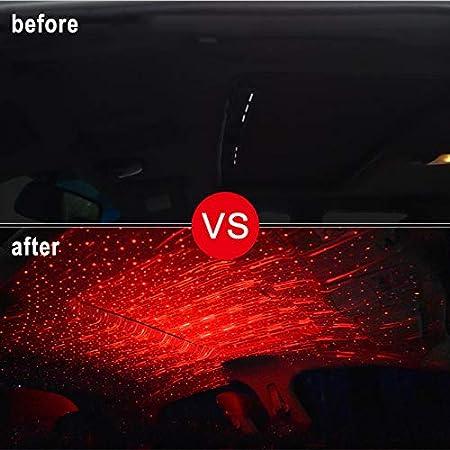 Starmood Auto Atmosph/ären Lampen-Innenraum umgebendes Stern-Licht USB-Nachtromantische Dekoration
