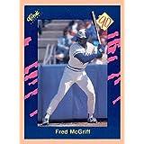 1990 Classic Blue #19 Fred McGriff TORONTO BLUE JAYS