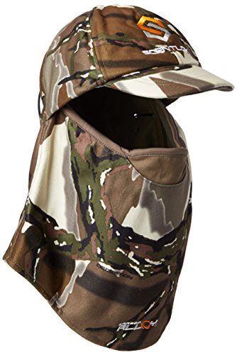 ScentLok Men's Full Season Ultimate Headcover, Predator Camo, One Size (Predator Hat Camo)