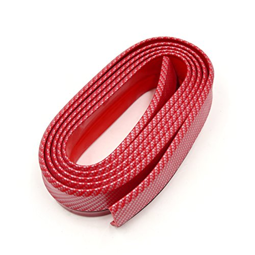 uxcell 52mm Red Car Anti Collision Door Edge Guard Trim Decoration Protective Strip