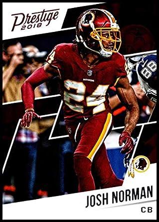 wholesale dealer ff19e e5c49 Amazon.com: 2018 Prestige NFL #94 Josh Norman Washington ...