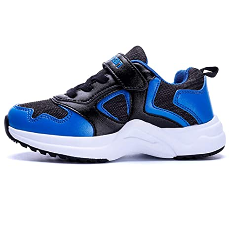 bac8ee05 Clothing, Shoes & Jewelry LGXH Comfy Boys Girls Basketball Shoes Breathable  Non-Slip Youth Kids Sport Trail Running Sneakers