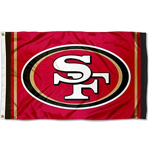 WinCraft San Francisco 49ers SF Large NFL 3x5 - Flag Francisco San 49ers