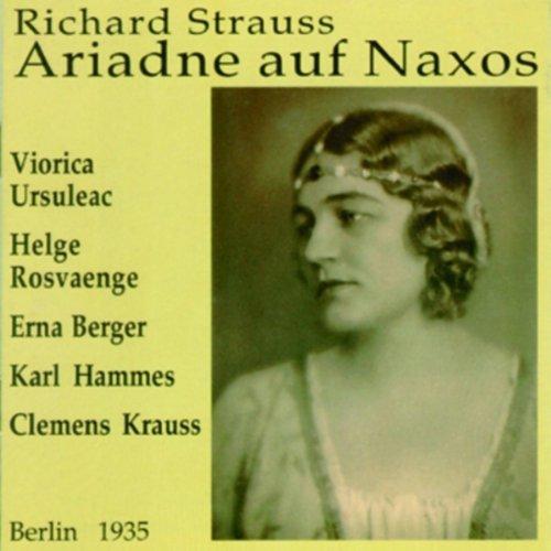Strauss: Ariadne auf Naxos [Highlights] by Preiser Records