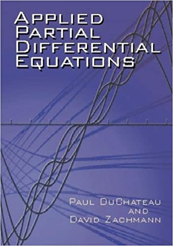 Applied partial differential equations dover books on mathematics applied partial differential equations dover books on mathematics paul duchateau david zachmann 0800759419760 amazon books fandeluxe Choice Image