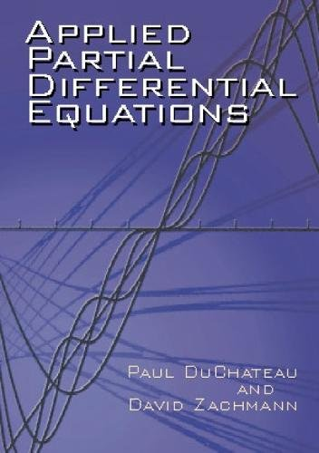Applied Partial Differential Equations (Dover Books on Mathematics)