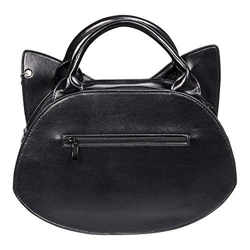 Of Tricks Bag Banned Borsetta Zip Nero Wishbone Nero twOqqSxv