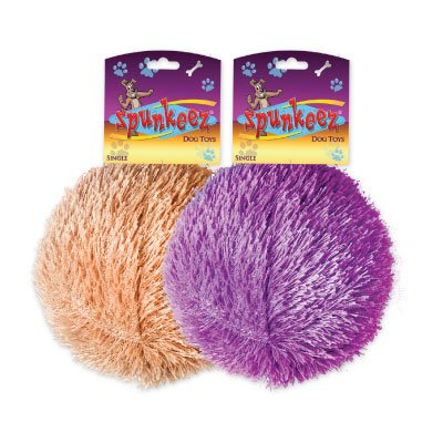 SPUNKEEZ PLUSH FURRY BALL 4'' #35249, CASE OF 144