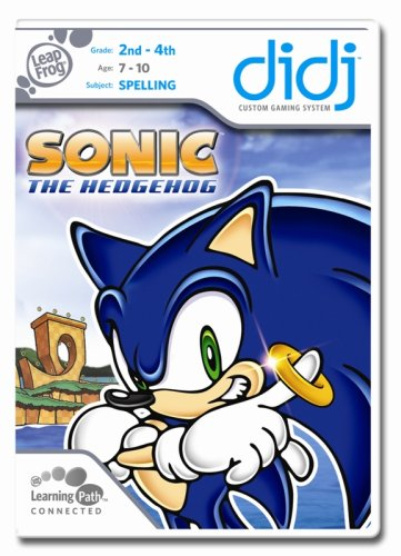 LeapFrog Didj Custom Learning Game Sonic the Hedgehog (List Of All Sonic The Hedgehog Characters)