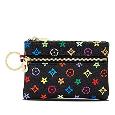 LLGGVE womens Checkered Coin Purse Size: Small