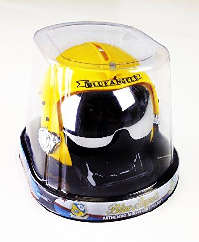 US Navy Blue Angels Authentic Mini Flight Helmet by Fox-2 - Scale 1/2 Helmet