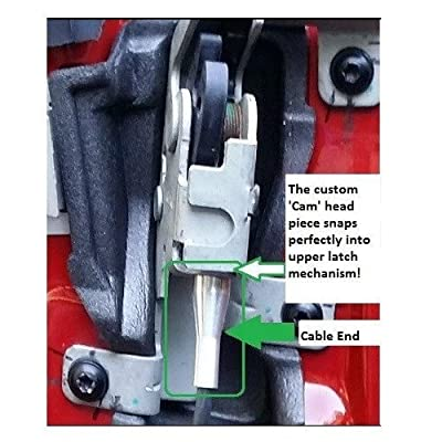 16 ENDS Vehicle Door Replacement Parts - Latch Lock Cable Repair Kit for Ford F-series, E-series, Ranger, Expedition, Excursion, Navigator: Automotive