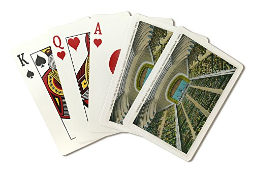 (Cleveland, Ohio - Public Auditorium Interior View (Playing Card Deck - 52 Card Poker Size with)