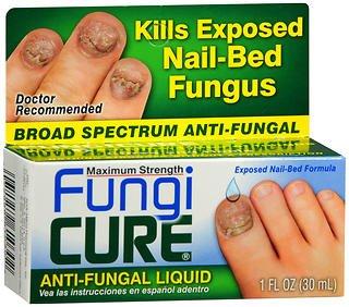 FungiCure Anti-Fungal Liquid Maximum Strength -1 fl oz, Pack of 5 ()
