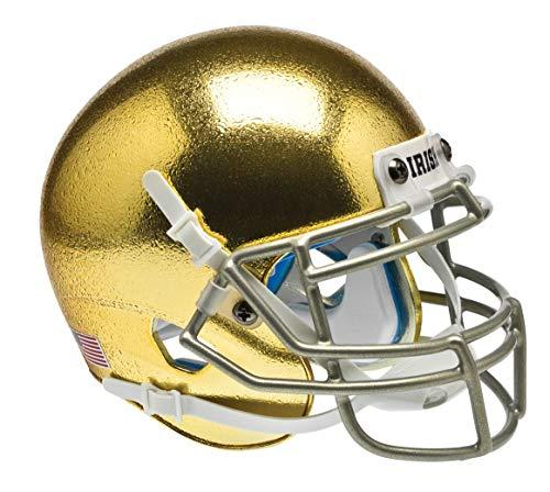 Schutt NCAA Notre Dame Fighting Irish Mini Authentic XP Football Helmet, ALT 5