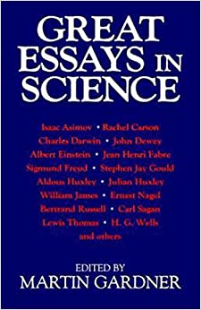 English Language Essays Great Essays In Science Simple Essays For High School Students also Persuasive Essays Examples For High School Great Essays In Science Martin Gardner  Amazoncom  Important Of English Language Essay