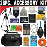 26 PC ULTIMATE SUPER SAVINGS DELUXE DB ROTH ACCESSORY KIT For The Olympus SP-570, SP-565, SP-560, S550, SP-510, SP-500, SP-350, SP-320, SP-310, C-5050 Digital Cameras + BONUS Gift = Waterproof Camera = Great For Kids