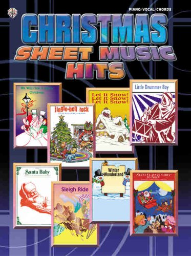 Christmas Sheet Music Hits Pianovocalchords Alfred Music