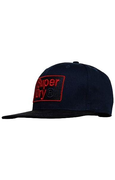 Superdry B Boy AOP Cap Gorra de béisbol, Azul (Navy 11S), Talla ...