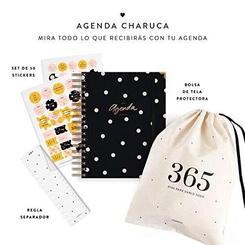 Charuca AG50 - Agenda, color negra