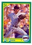 Mike Krukow autographed Baseball Card (San Francisco Giants) 1990 Score #215 (Ball Point Pen) - Baseball Slabbed Autographed Cards